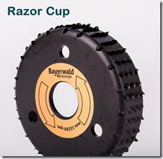 Bayerwald Razor Cup Raspelscheibe