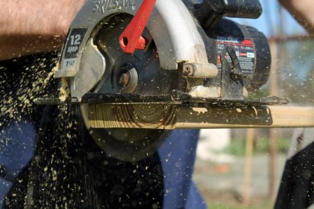 Handkreissäge für Holz