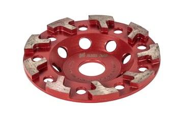 T-Segment Diamant Schleiftopf / Diamant Schleifteller speziell für Beton